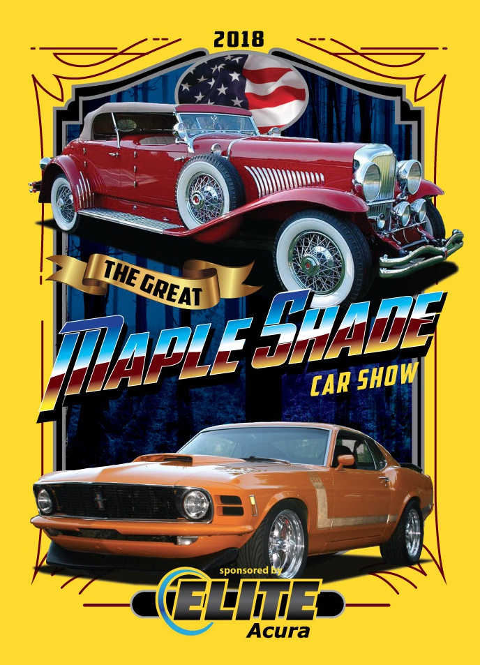 Maple Shade Business Association Think Maple Shade Car Show - Car show t shirts